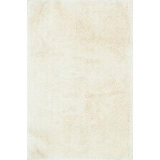 "Hand-tufted Evelyn Ivory Shag Rug (5'0 x 7'6) - 5' x 7'6"""