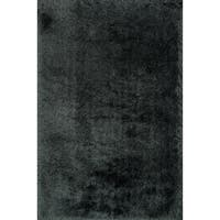 Hand-tufted Evelyn Graphite Shag Rug (5'0 x 7'6) - 5' x 7'6""