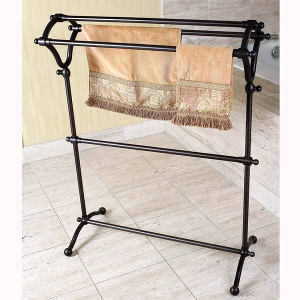 Oil Rubbed Bronze Bath Towel Rack