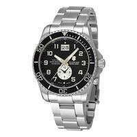 Swiss Army Men's 241441 'Maverick' Black Dial Stainless Steel Quartz Watch