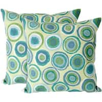 Pebbles 20-inch Throw Pillow (Set of 2)