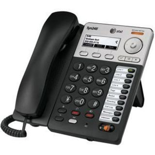 AT&T Syn248 SB35025 IP Phone - Wireless - Desktop, Wall Mountable - B