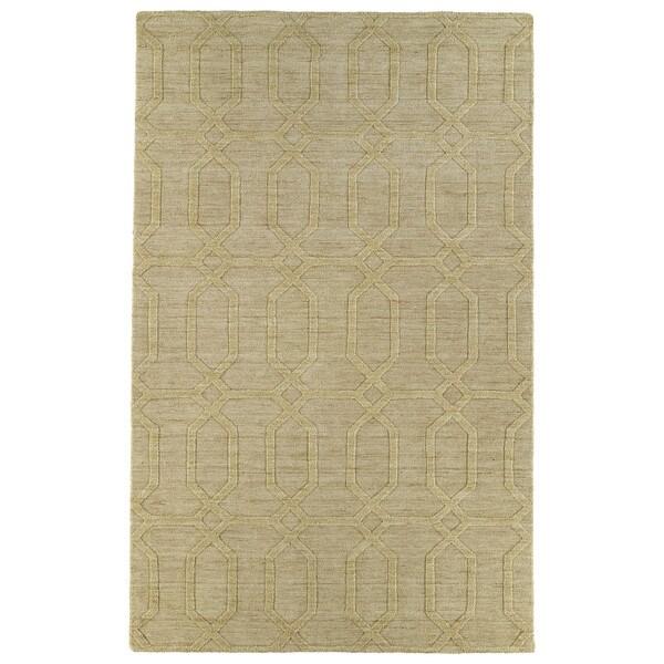 Trends Yellow Pop Wool Rug - 5' x 8'