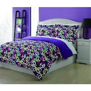 Painterly Peace 3-piece Comforter Set