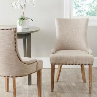 Safavieh Lester Grey Dining Chair (Set of 2)
