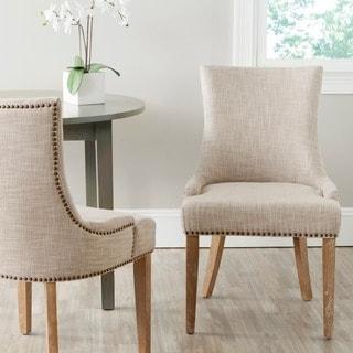"Safavieh Dining Lester Grey Dining Chair (Set of 2) - 22"" x 24.8"" x 36.4"""