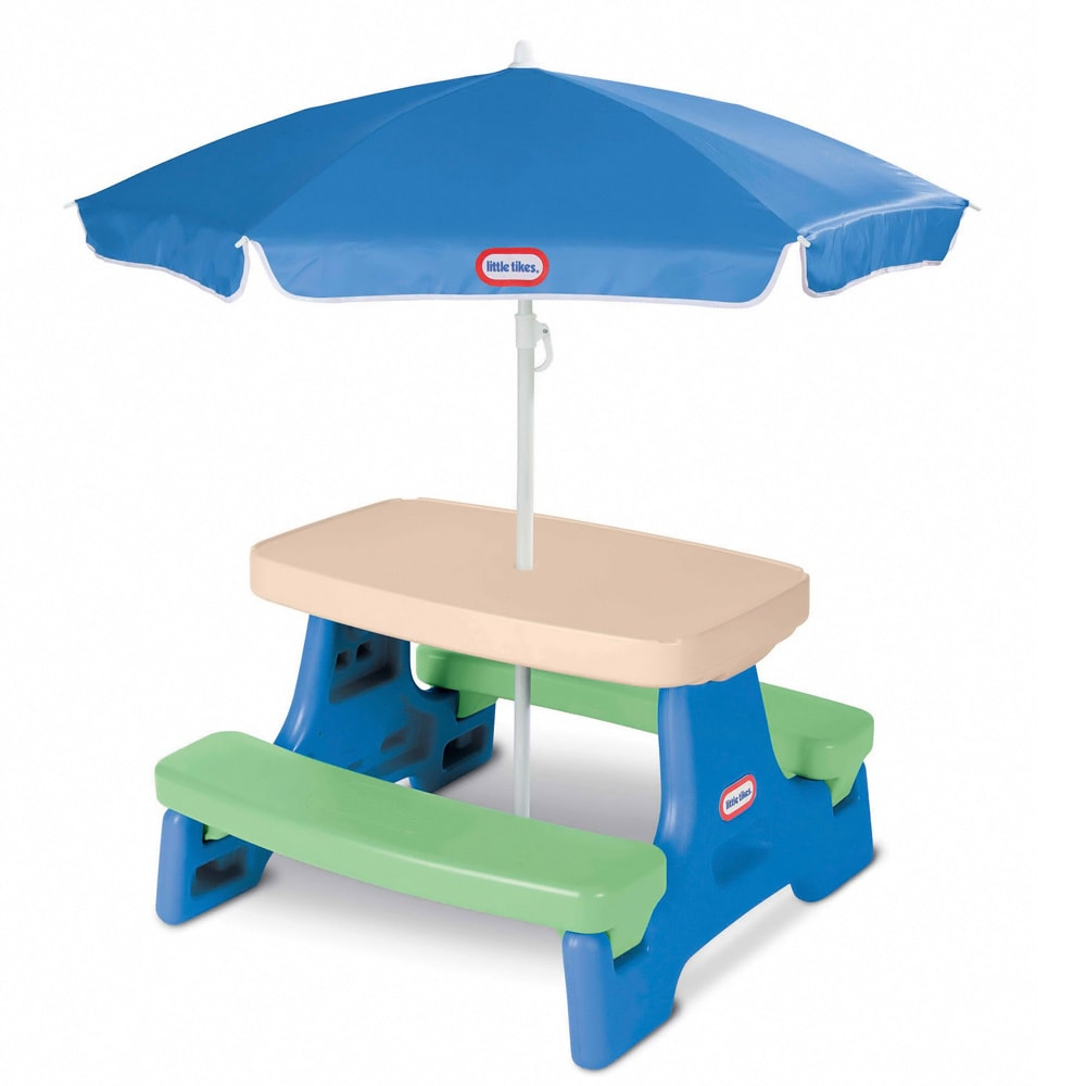 Little Tikes Easy Store Jr. Table with Umbrella (Easy Sto...