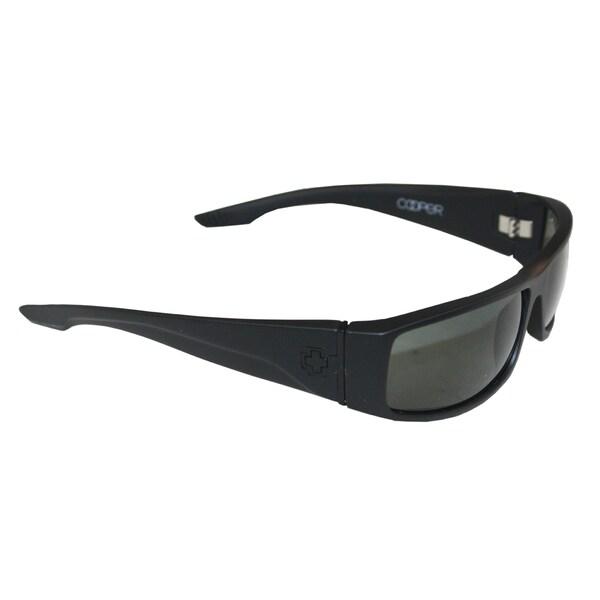 Spy Optic Cooper Black Grey Matte Polarized Sunglasses