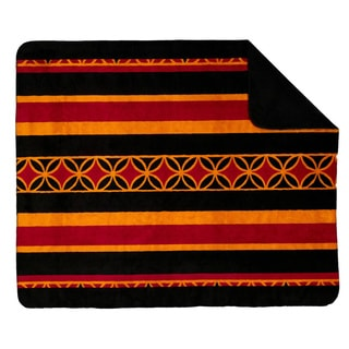Denali Gold Stripe Throw Blanket