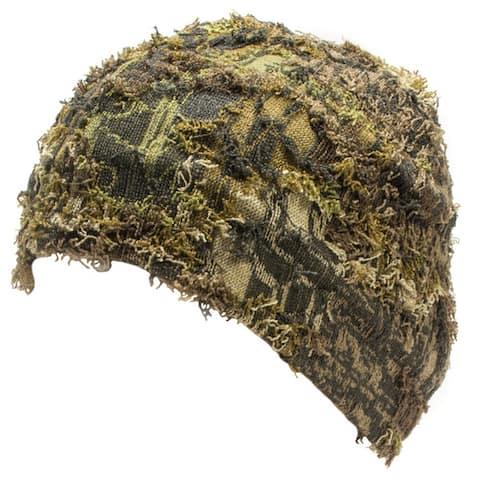QuietWear Camo Grass Beanie