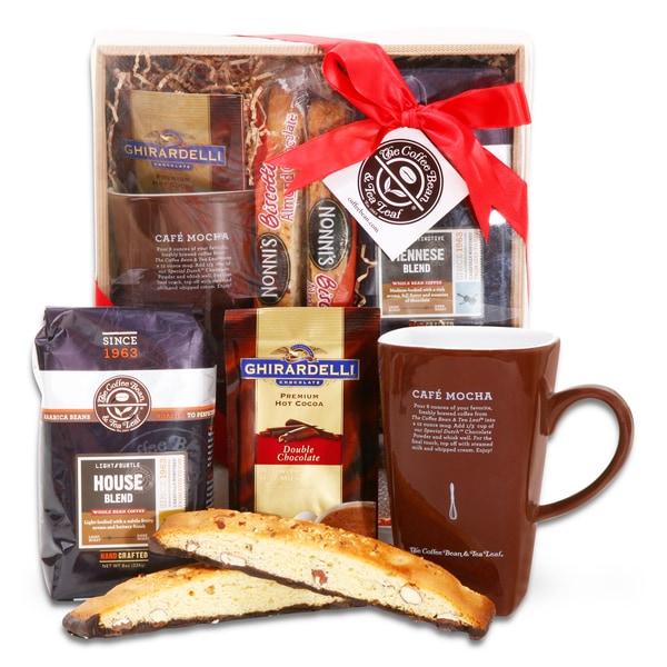 Alder Creek Coffee Bean and Tea Leaf Delights Gift Basket