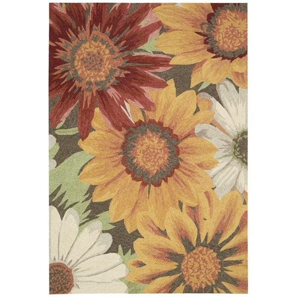 Nourison South Beach Sunflower Rug 8' x 10'6