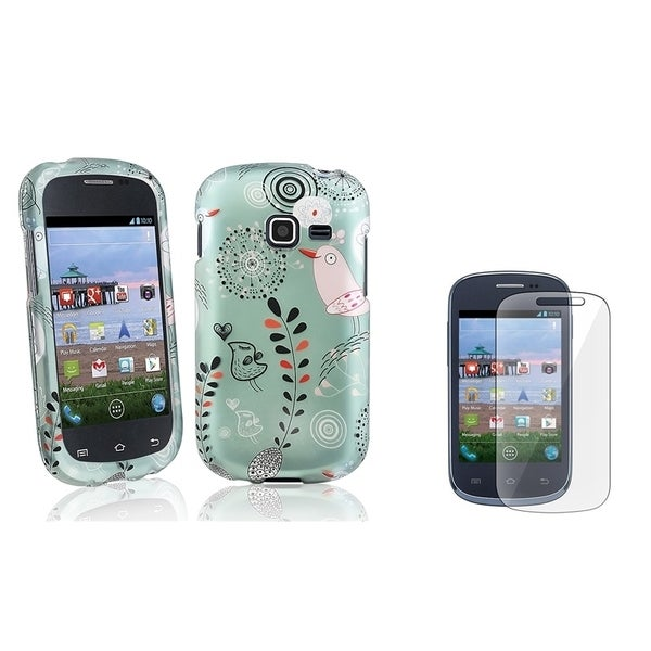 INSTEN Phone Case Cover/ LCD Protector for Samsung Galaxy Centura S738C