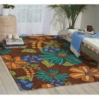Nourison South Beach Chocolate Rug - 10' x 13'