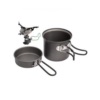 Optimus Criux with Terra Weekend HE 3-piece Cook Set