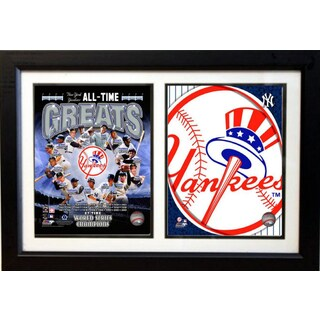 New York Yankees Greats 12 x 18-inches Double Frame