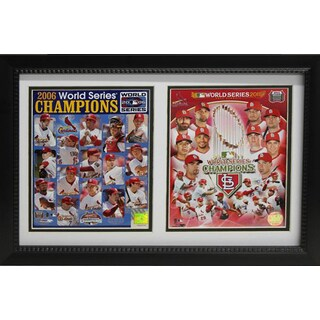World Series Champion St. Louis Cardinals 12 x 18-inch Double Frame