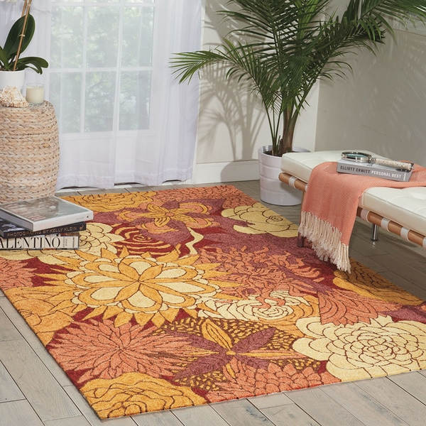 d0ad7b6eb43a11 Shop Nourison South Beach Spice Rug - 5  x 7 6