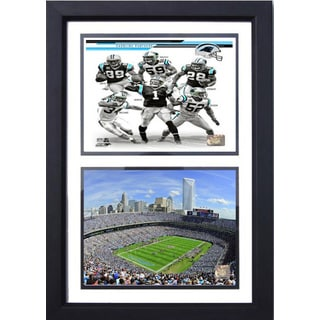 Carolina Panthers 12x18 Double Frame