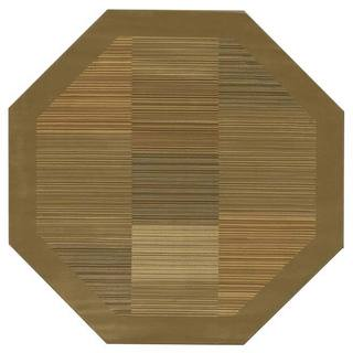 "Couristan Everest Hamptons Sage Octagon Area Rug - 3'11"" octagon"