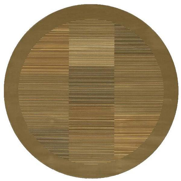 "Couristan Everest Hamptons Sage Round Area Rug - 5'3"" round"