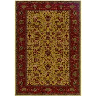 Couristan Everest Tabriz/Harvest Gold Area Rug - 3'11 x 5'3