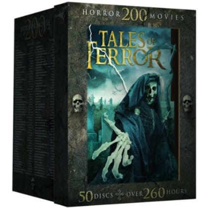 Tales of Terror: 200 Classic Horror Movies (DVD)