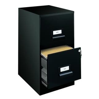 2-Drawer Steel File Cabinet