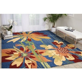 Handmade South Beach Denim Area Rug - 8' x 10'6