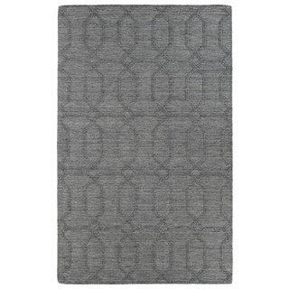 Trends Grey Pop Wool Rug (9'6x13'6)