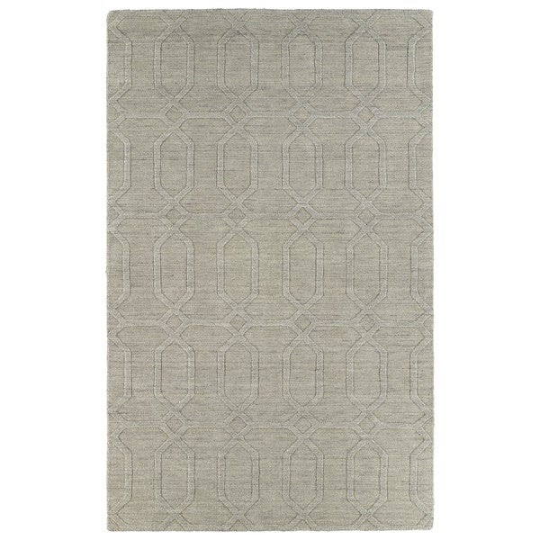 Trends Oatmeal Pop Wool Rug - 9'6x13'6