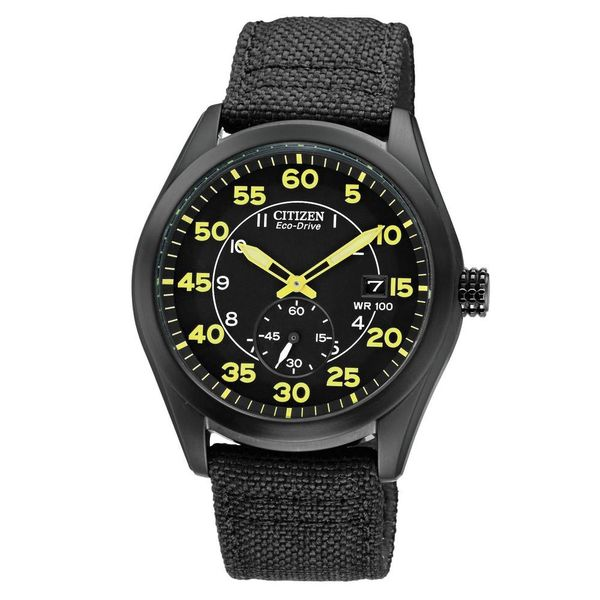 Citizen Men's Eco-Drive Stainless Steel Watch BV1085-14E