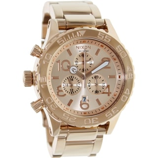 Nixon Men's Rose-gold Quartz Watch