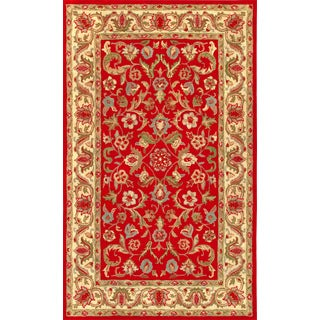 Harmony Red Beige 5 x 8-foot Rug