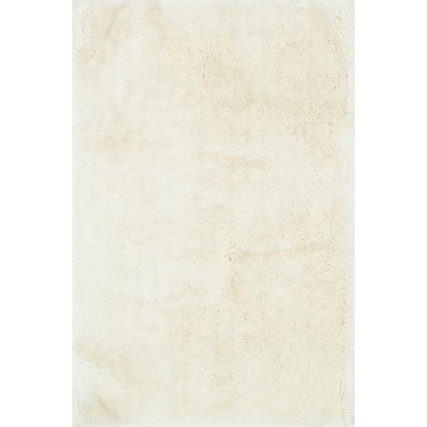 "Hand-tufted Evelyn Ivory Shag Rug (7'6 x 9'6) - 7'6"" x 9'6"""