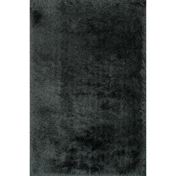 Hand-tufted Evelyn Graphite Shag Rug (9'3 x 13'0)