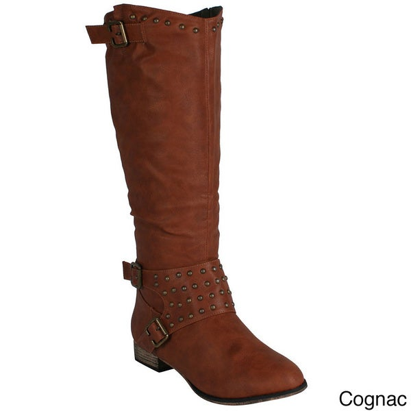 Machi Women's 'Ramsy-3' Knee-high Riding Boots