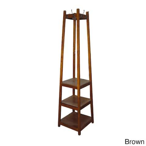 3-tier Tower Shoe/Coat Rack