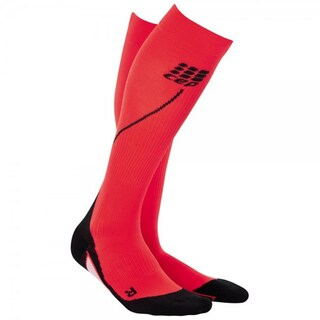 CEP Women's Progressive Running Compression Socks (Option: Red/Black Size II)