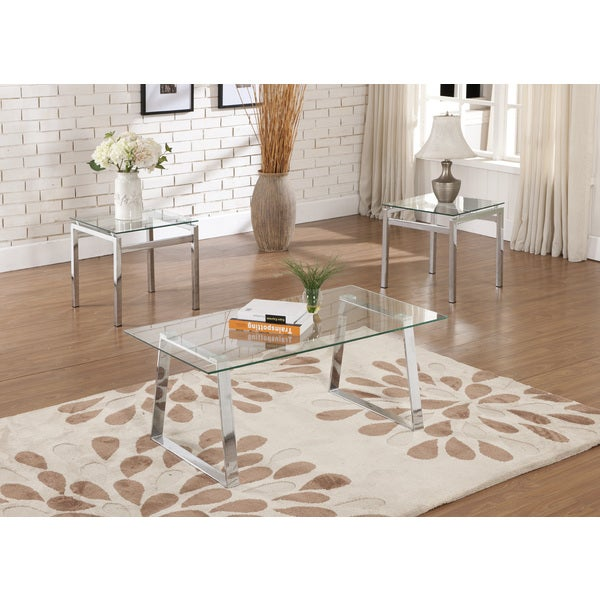 Shop Contemporary Glass Coffee Table