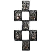 Elements 23-inch 7-lite MTL Bronze Scroll Sconce