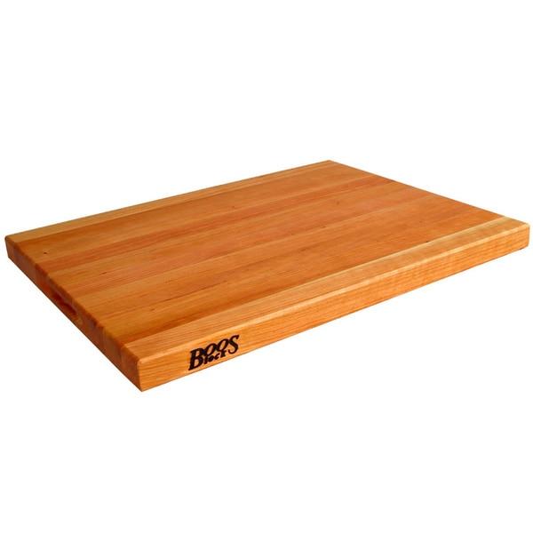 John Boos Chy R02 Reversible Cherry 24x18 Inch Wood Cutting Board