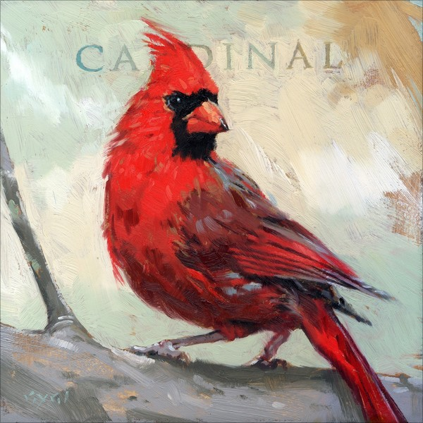 Shop Amberton Publishing Cardinal Bird Canvas Art Free