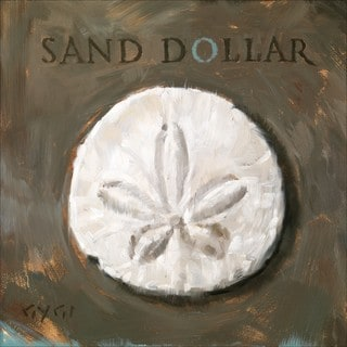 'Amberton Publishing Sand Dollar Sea Shell' Canvas Art