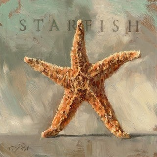 'Amberton Publishing Starfish' Canvas Art