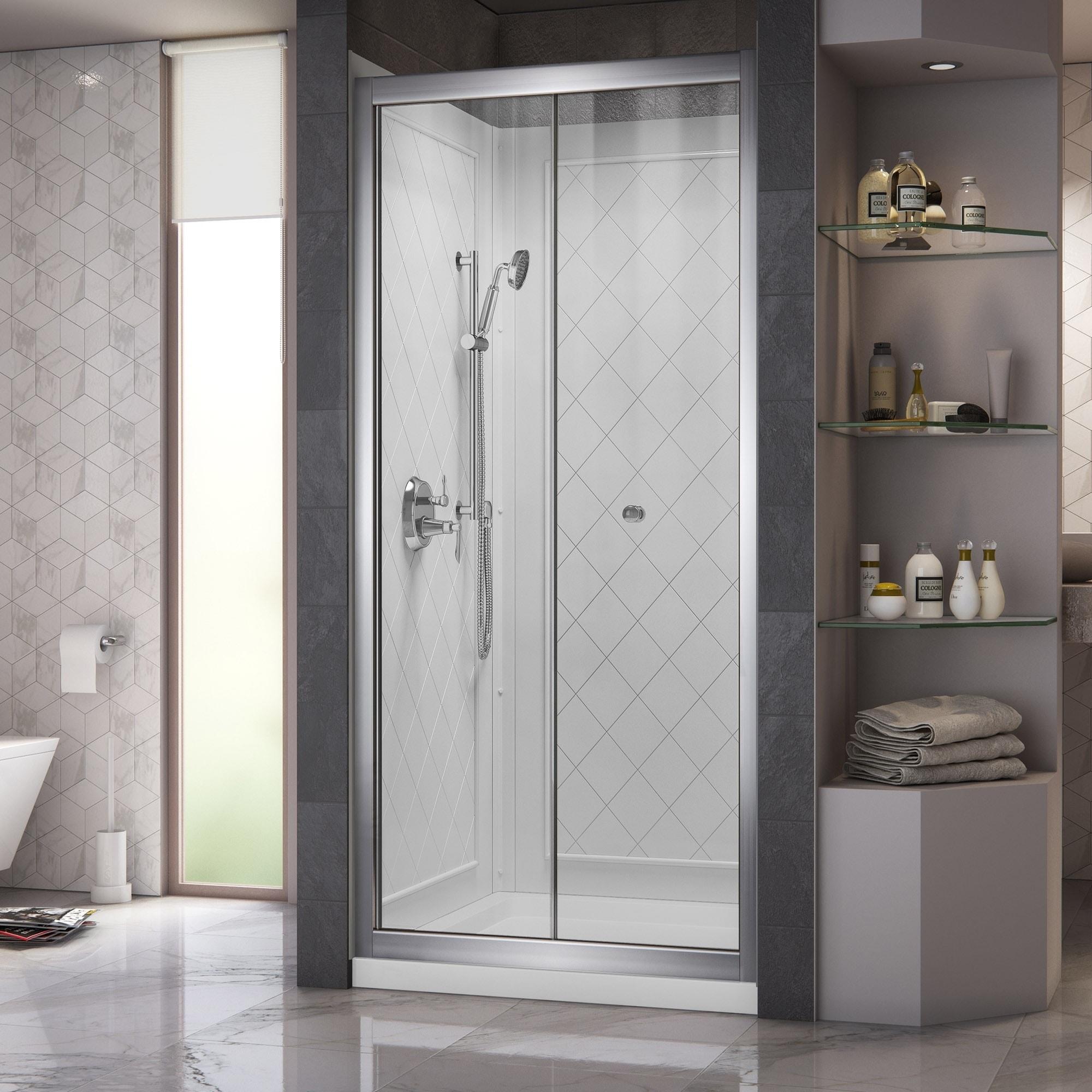 Dreamline Butterfly Frameless Bi-Fold Shower Door, 36 in....