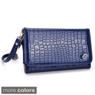 Kroo Diva Clutch Wristlet for Smartphone with Shoulder Strap