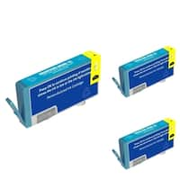 Refilled Insten Cyan Remanufactured Ink Cartridge Replacement for HP