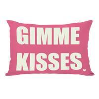 GIMME KISSES  Throw Pillow