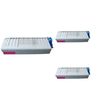 Insten Premium Magenta Color Toner Cartridge 43866102/ 44318602 for OKI C710C711